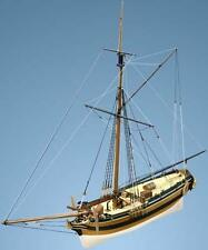 """Brand New, Detailed Wooden Model Ship Kit by Caldercraft: """"HM Yacht Chatham"""""""