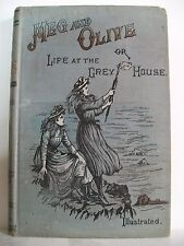 Book. Meg and Olive; or, Life At The Grey House by M. Rickards. John Hogg. HB