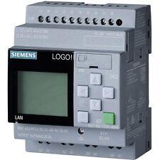 Siemens LOGO! 8 PLC 6ED10521FB000BA8 115V/230V/RELAY, 8 DI/4 DO MEM 400 BLOCKS