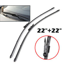 "Pair 22"" Front Windscreen Wiper Blades For Mercedes Benz Slk-class R171 R172"