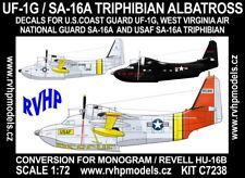 RVHP Models 1/72 Grumman UF-1G / SA-16A Triphibian Albatross Conversions Set