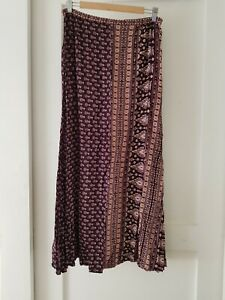 SPELL & The GYPSY Collective Gypsiana Maxi Skirt in Pepper Sz L