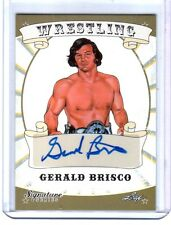 Gerald Brisco 2016 Leaf Wrestling Signature Series Authentic Autograph Card DWC