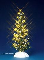 Lemax 44787 LIGHTED PINE TREE LARGE Christmas Village Landscape Accessory S O R