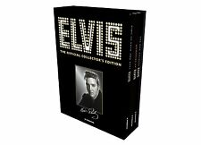 Elvis The Official Collector's Edition 10 DVD Set  256 page Hardcover Book Gift!