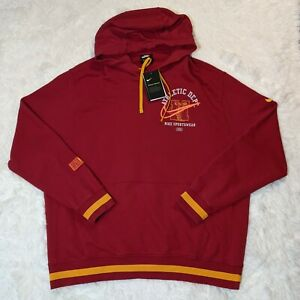 Nike Class of 72 Club Hoodie Mens XL Gym Red/University Gold DC3546-687 Pullover