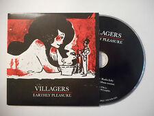 VILLAGERS : EARTHLY PLEASURE ♦ CD SINGLE PORT GRATUIT ♦