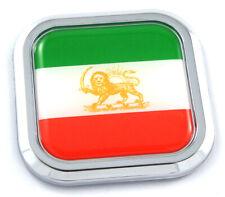 Neuf IRAN PERSIAN Lion Old Country Flag Metal lapel pin badge..