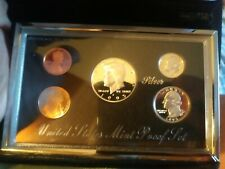 Rare 1995 U.S. Premier Silver Proof Set In Mint Packaging With COA - Contains 3