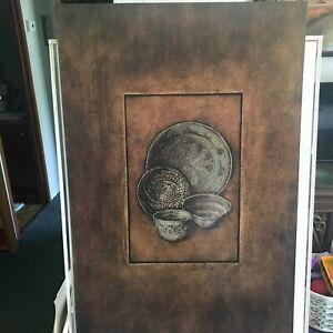 Art Poster Print – Baskets II by Carolyn Kinder