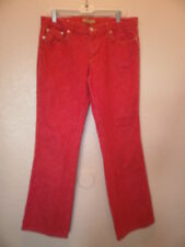 TOMMY HILFIGER  WOMEN'S  RED JEANS  SIZE 11