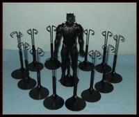 """12 BLACK Kaiser Display Stands Fit 12"""" Marvel Avengers Action Figures KEN Dolls"""
