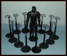 """12 BLACK Kaiser 2175 Display Stands Fit 12"""" Marvel Avengers Action Figures KEN"""