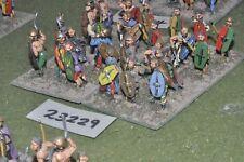 25mm roman era / gaul - warriors 24 figures - inf (23229)