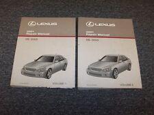 2001 Lexus IS300 Sedan Workshop Shop Service Repair Manual Set Vol 1-2 3.0L
