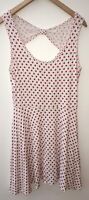Ladies Evie Dress White Size 12 <NZ302
