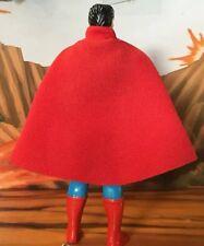 DC Kenner Super Powers Superman Replica Custom Cape (Cape Only) No S Emblem