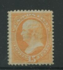 1870 US Stamp #152 15c Mint Disturbed Gum F/VF Catalogue Value $3500 Certified