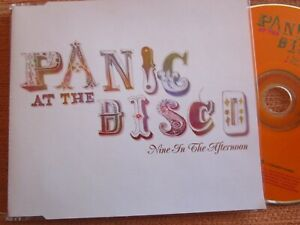 Panic At The Disco Nine In The Afternoon Promo  Decaydance PR016547 CD Single