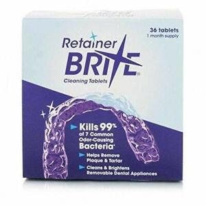 Retainer Brite Cleaning Tablets . 36 Tablets.