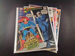Superman's Comics DC 4 Lot Assorted 209 Atom 51 Superboy 45