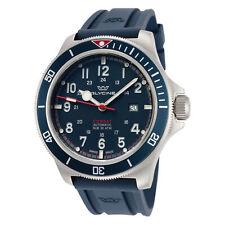 Glycine Men's Combat Sub GL0275 46mm Dark Blue Dial Silicone Watch