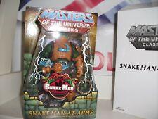 Masters del Universo Classic's serpiente hombre de armas + MINI COMIC NUEVO con Mailer
