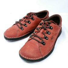 Born Rusty Red Leather Oxford Sneakers Lace Up W19645  US 9 / EU40.5