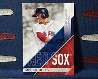 2017 Topps MOOKIE BETTS #SS-15 SILVER SLUGGER AWARD - Boston Red Sox