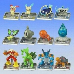 Rares Set Complet Mini Figurine 12 Pokemon Full Couleur Advance 05 BANDAI Jap