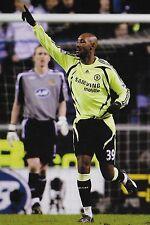 Football Photo>NICOLAS ANELKA Chelsea 2007-08