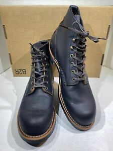Red Wing Heritage Blacksmith Men's Size 11 Black Prairie Leather Boots X7-949