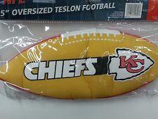 "NFL 15"" Oversized Inflatable Football, Kansas City Chiefs, NEW"
