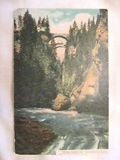 Albulabahn, Die Solisbrucken Switzerland old postcard