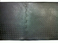 BLACK RUBBER  ANTI - FATIGUE MAT, NEW