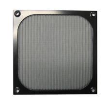 GALAXY 140mm Anodized aluminum fan filter (Black)