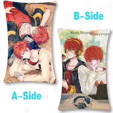 Game Mystic Messenger Dakimakura 707 Luciel Choi Cushion Cover Pillow Case #r323