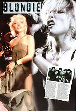 Blondie & Debbie Harry Memorabilia Posters