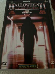 HALLOWEEN II IL SIGNORE DELLA MORTE DVD Horror. Prima Stampa Pulp Video