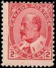 Canada #90 mint F OG NH 1903 King Edward VII 2c carmine CV$45.00