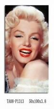 Marilyn Monroe, Famous American Actress Large Canvas Print,  (40x80x2.5)