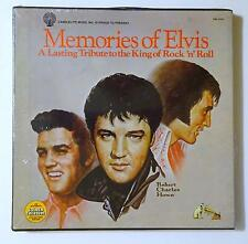 MEMORIES OF ELVIS A Lasting Tribute 5 LP Record Sealed Box CANDLELITE DML 5-0347