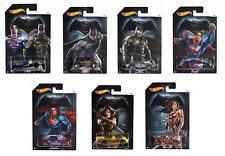 Hot Wheels Batman vs Superman - Set of 7 Cars Mattel- DJL47~NEW~