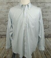 Brooks Brothers Mens Shirt Size 17 4/5 Striped Button Down Long Sleeve