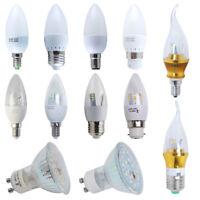 10/6/4x B22 E27 E14 3W 5W 6W 7W 8W LED Bulbs Light Spotlight Energy Saving Lamp