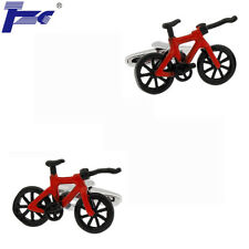 Men Red & Black Bike Bicycle Cufflinks With Velvet Bag TZG Cuff Links