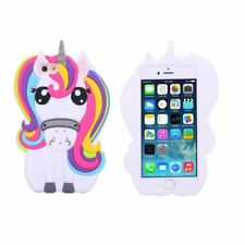 3d Rainbow Unicorn Soft Silicone Phone Case Skin for iPhone 6 7 Samsung S8 Plus for LG K10 2017