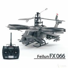 RC Helikopter FX066 Hunting Sky, Single, 4CH, 2,4 GHz, Militär Hubschrauber