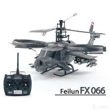 RC Helikopter FX066 Hunting Sky, Single, 4CH, 2,4 GHz, Militär Hubschrauber