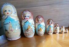 Mockba Russian Nesting Dolls with Church of the Savior